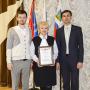 Победа во Всероссийском конкурсе в номинации «За здоровый образ жизни»